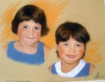 Margaux & Anaïs (pastel sec)
