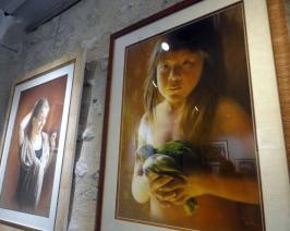 2 des tableaux de Gisèle Hurtaud
