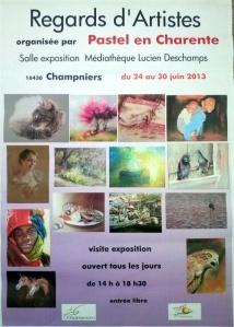 "Affiche ""Regards d'Artistes"""