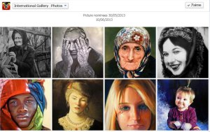 8 des portraits nominés