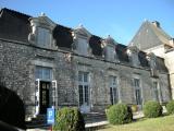 l'aile du château où est installée l'exposition