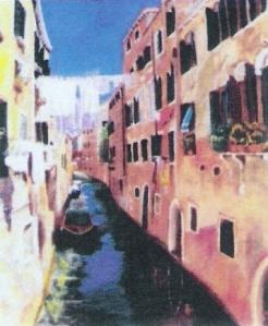 """""""Canal à Venise"""""""