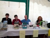 Quelques auteurs dont Hervé Brunaux (à gauche)