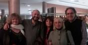 Avec Pilar Ahijado, Churiah, Vicente Romero et Aurelio Rodriguez