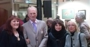 Avec Pilar Ahijado, Heather Harman et William Hosner