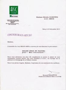Concours Beaux-Arts BNPP 2013