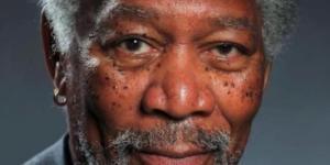 portrait de Morgan Freeman_