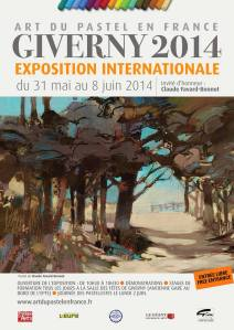 Affiche Giverny 2014