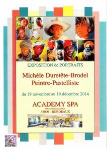 Affiche Bordeaux 2014