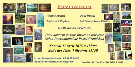invitation vernissage Villepinte 2015