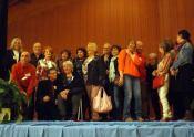 Pastellistes en scène avec Paul Dussel (photo Salon Pastel Grand Sud)