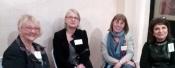 Avec Dany Dangelser, Christine Dumont et Jacqueline Ferron
