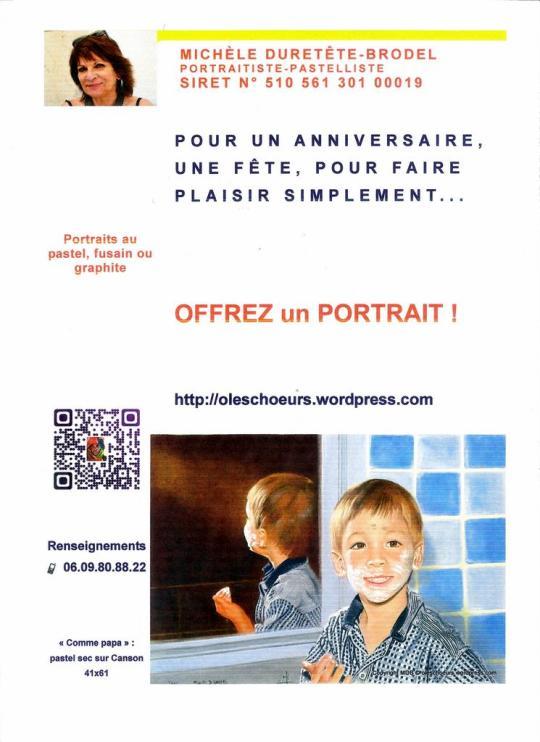 Offrez un portrait