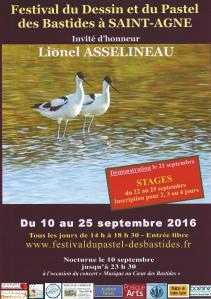 Festival du dessin & du pastel - Saint-Agne 2016