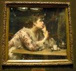 Le tableau au Musée