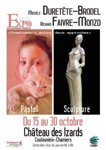 Expo au Château des Izards (affiche)