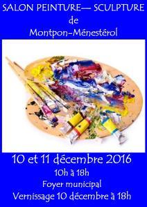 Salon de Peintures & Sculptures de Montpon-Ménestérol